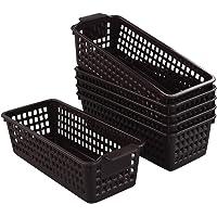 Gitany Pequeñas Cestas de Plástico para Almacenamiento, 6