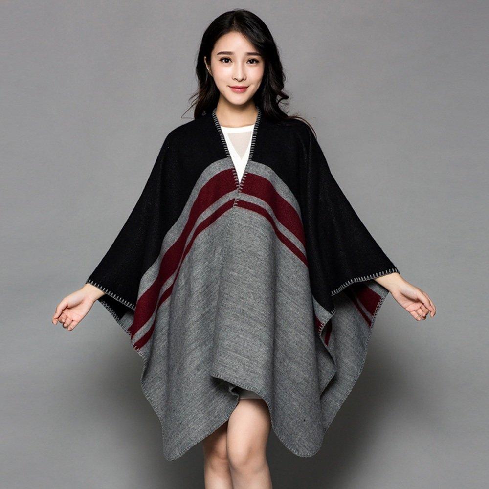 Bufanda HAIZHEN Elegante de moda chal de las mujeres estudiantes son más gruesos en otoño e invierno...