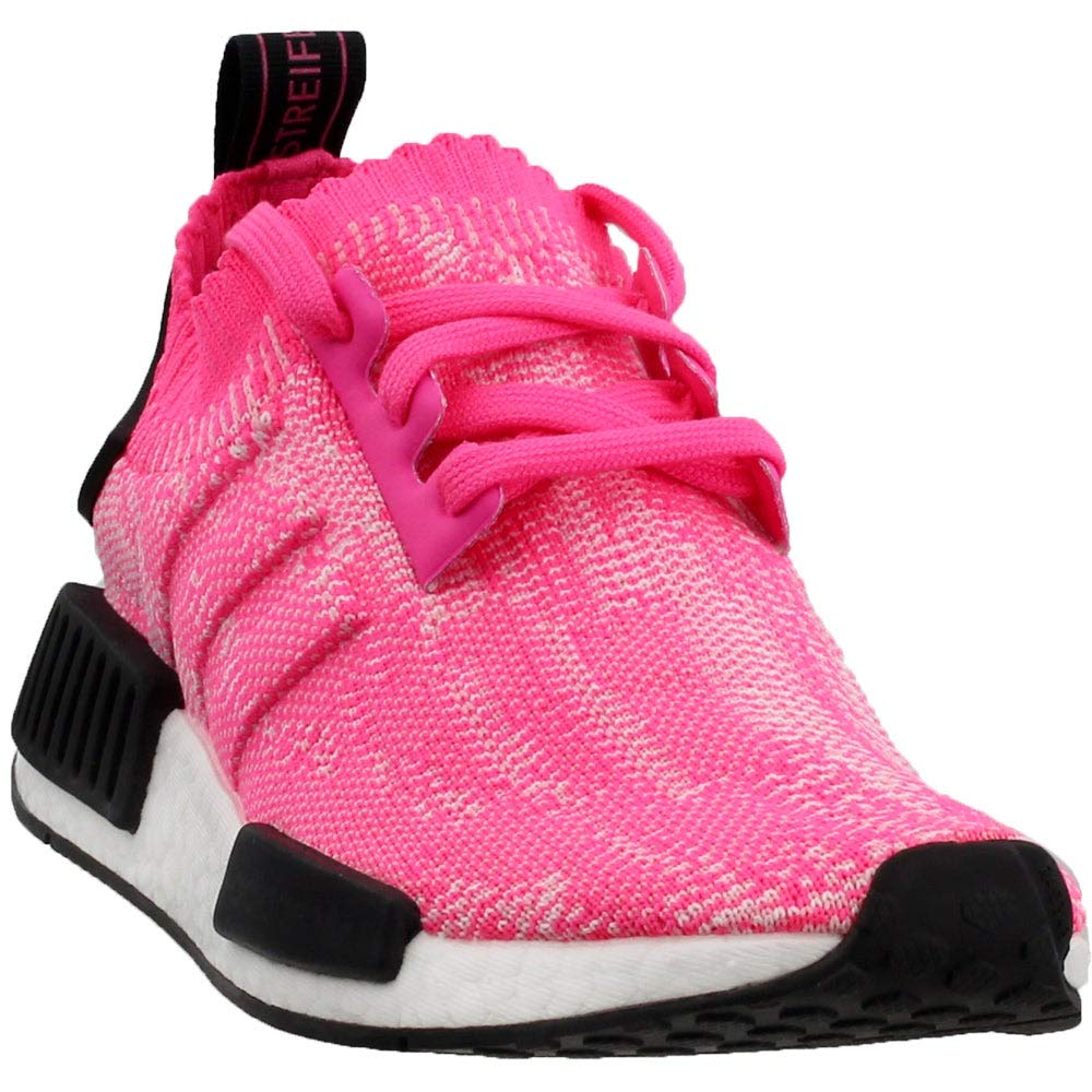 AQ1104 Adidas Originals NMD R1 PK Women Shoes Solar PinkCore Black