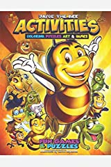 Jayce The Bee Activities & Coloring Book Paperback
