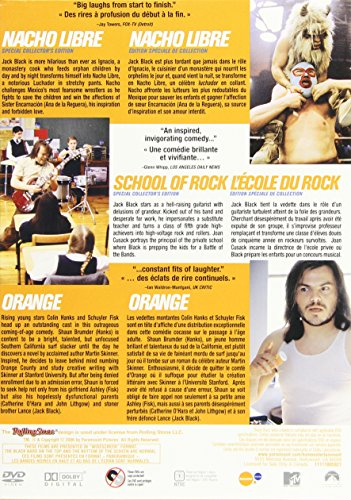 Jack Black Collection (Nacho Libre / School of Rock / Orange County)