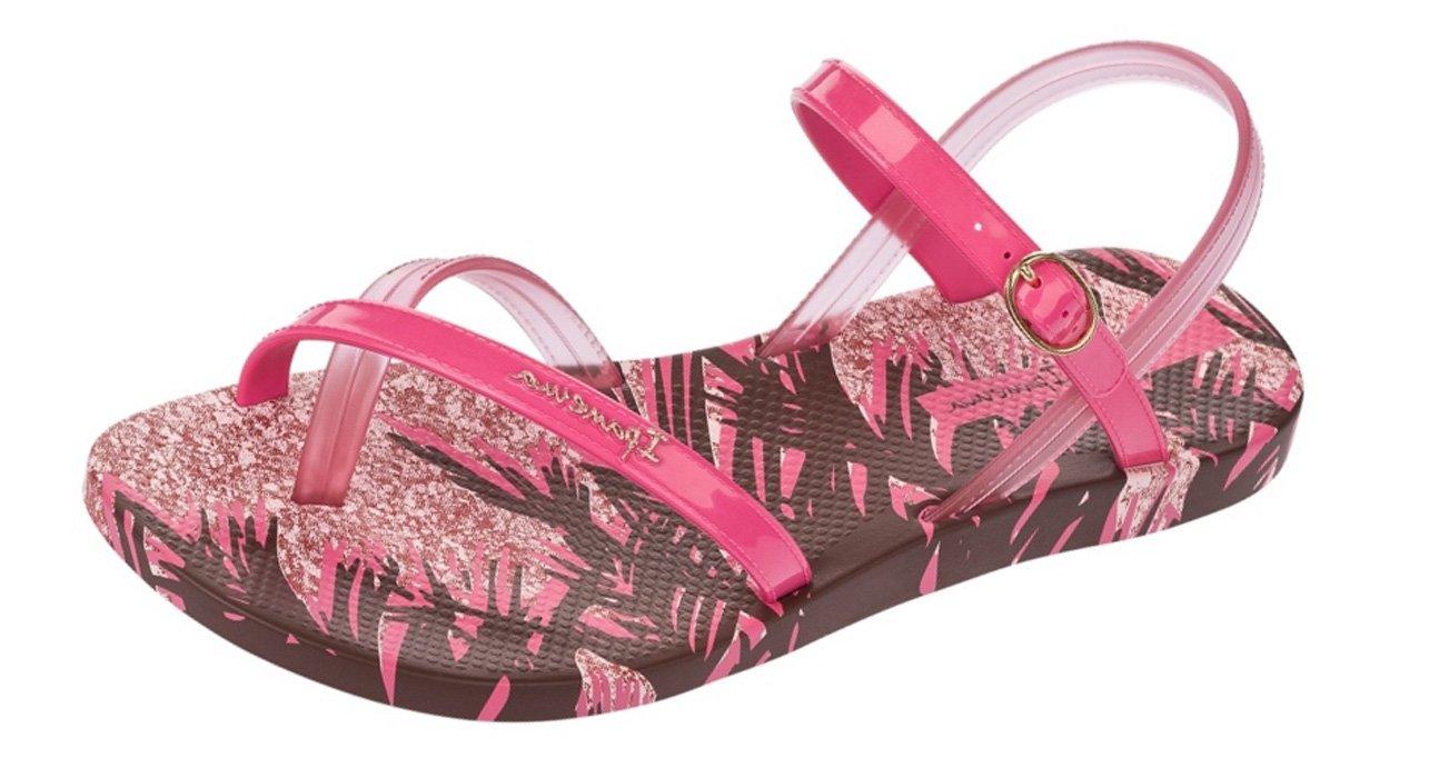 Ipanema Damen Fashion Sand IV Fem Riemchensandalen, Blau  39 EU|Pink