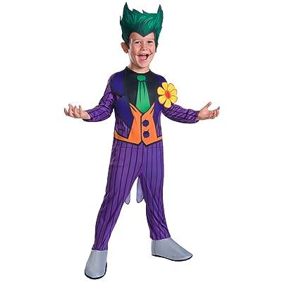 Rubie's Costume Boys DC Comics The Joker Costume, Small, Multicolor: Clothing