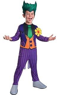 Rubies - Disfraz oficial deluxe de Joker para niños - talla S ...
