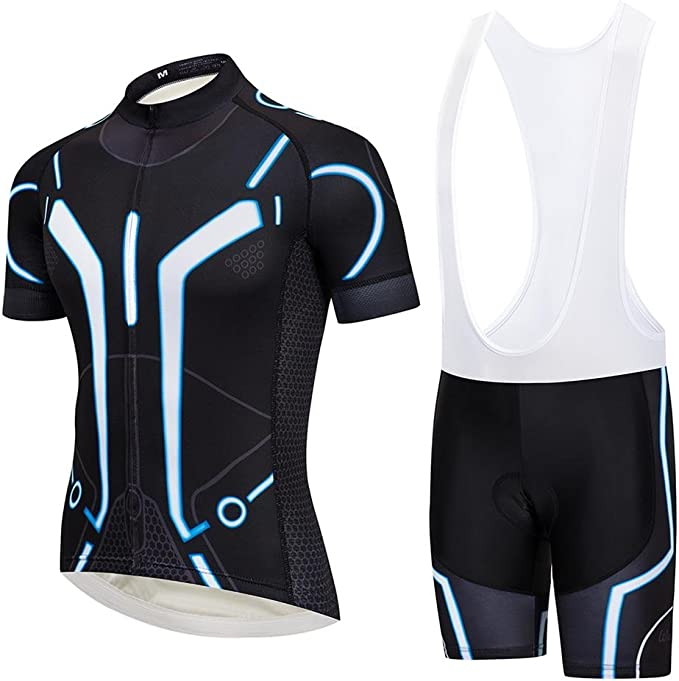 Team Women Outdoor Sports Short Sleeve Riding Bike Bicycle Jersey Shirt Set Kits
