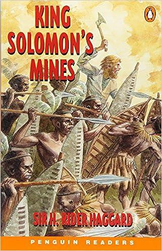 amazon king solomons mines pgrn4 penguin readers level 4 h