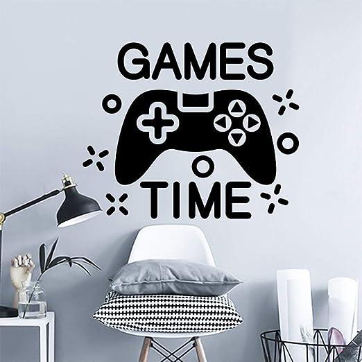 weiaikeke Gamer muursticker Juegos tijd Decal Videojuego ...