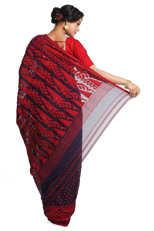 Best Women's Jamdani Cotton Silk Saree