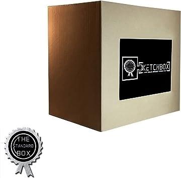 Caja Misteriosa KETCHBOX - Regalo Sorpresa, Mystery Box, Regalo Original - Conteniene Gadgets divertidos y ALEATORIOS - (STANDARD): Amazon.es: Oficina y papelería