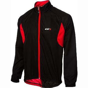 48db3d211 Louis Garneau Modesto Jacket 2 - Men s Black Red
