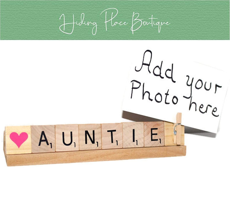 Auntie Frame, Auntie Photo, Auntie Gift, Auntie Birthday, Aunt Frame, Love Aunt, Love Auntie, Baby Announcement, New Baby, Niece Gift, Nephew Gift, Aunt Gift, Aunt Photo, Tia Gift, Aunt Christmas