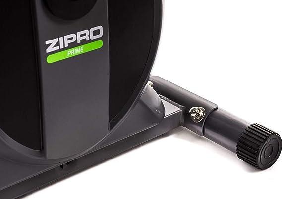 Zipro Erwachsene Magnetischer Crosstrainer Shox bis 120kg Eine Schwungmasse von 7 kg One Size Schwarz