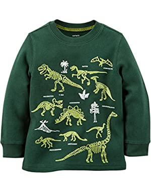 Carters Baby Boys Glow-In-The-Dark Dino Thermal