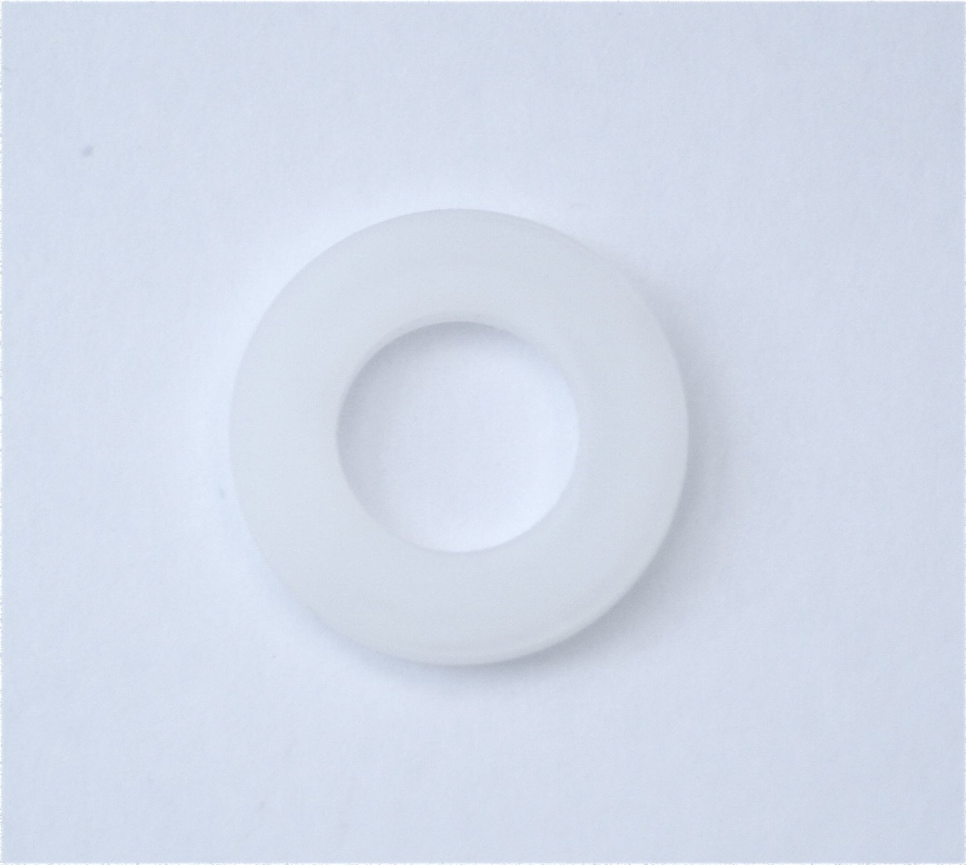 M8 Nylon Washer - Pack 25 - Metric Washers Natural Nylon 6.6 M A Components