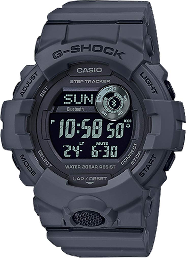 G-Shock Men's GBD800UC-8 Grey One Size