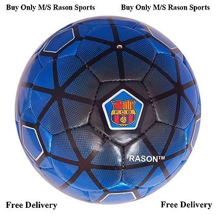 cd24206db08 Buy RASON Dark-Blue (3 Ply PVC; Size- 5) FCB Barcelona Football ...