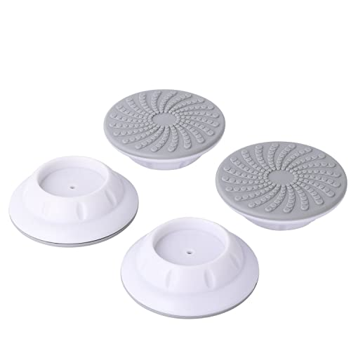 4 Pcs Set Wall Guard for Pressure Gates, Wall Protector for Walk Thru Gates, Protect Door, Stair, Wall Surface, Babies Pets Safety. White