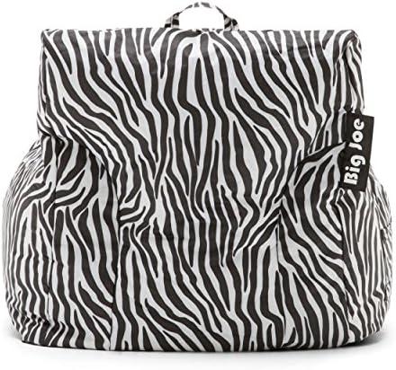home, kitchen, furniture, game, recreation room furniture,  bean bags 10 image Big Joe Dorm Bean Bag Chair, Zebra promotion