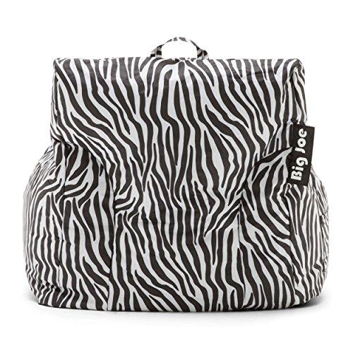 Big Joe Dorm Chair Zebra New
