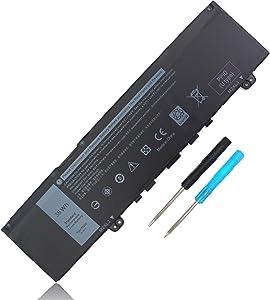 38WH F62G0 Battery for Dell Inspiron 13 7000 2-in-1 7373 l7373-7227 7386 7370 7380 5370 P83G P83G001 P83G002 P87G P87G001 P91G P91G001 Vostro 5370 F62GO 39DY5 RPJC3 039DY5 0RPJC3 11.4V