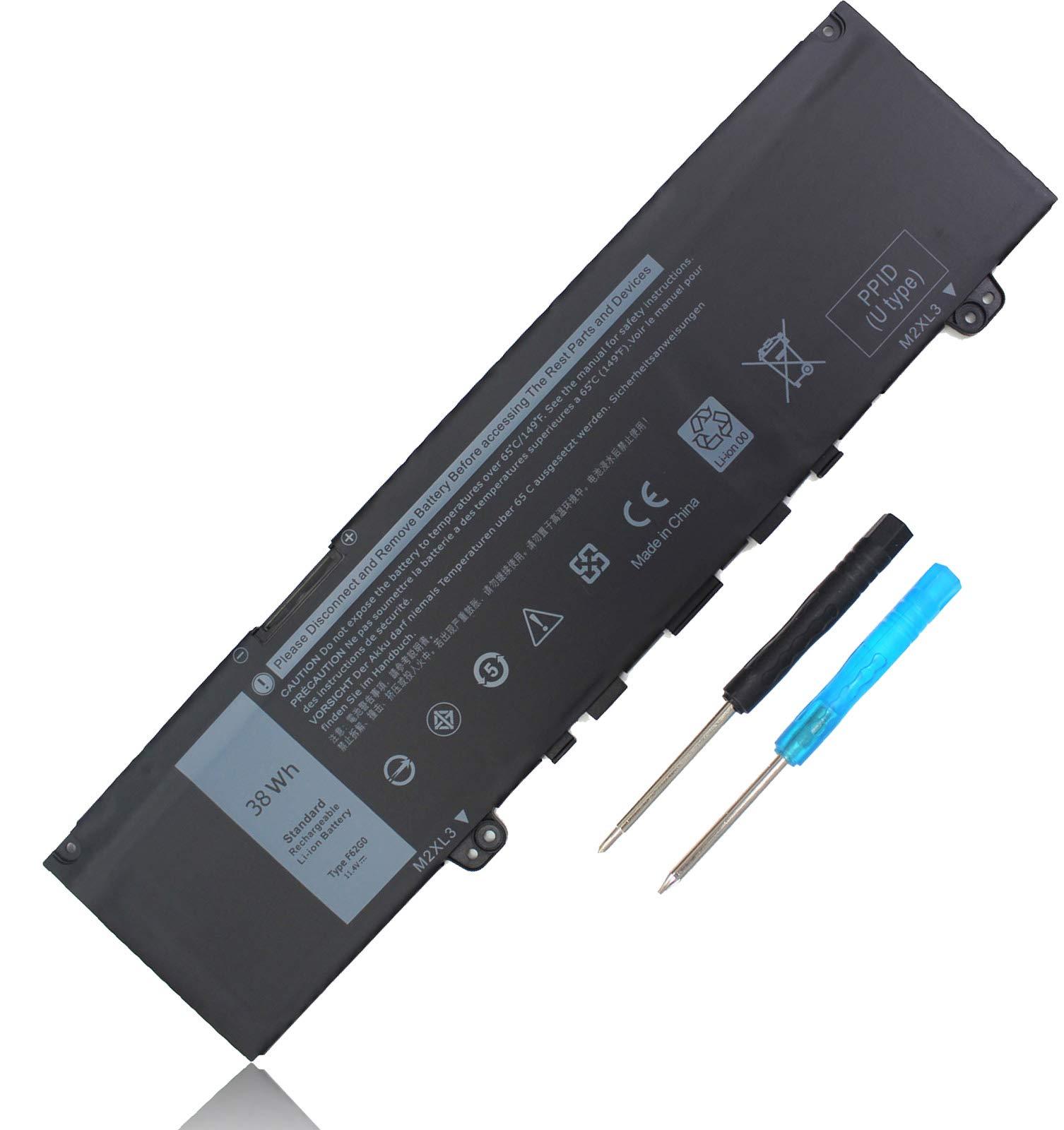 Bateria 38WH F62G0 para Dell Inspiron 13 7000 2-in-1 7373 L7