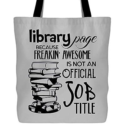 Amazon.com: Bolsas de lona para la biblioteca – bolsas de ...