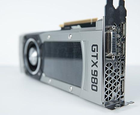 Nvidia GeForce GTX 980 4GB GDDR5 PCIe 3.0 x16 SLI DVI/HDMI/DP ...