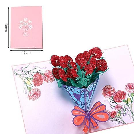 Geburtstagskarte Schreiben Mama.Bllomsem Muttertagskarte 3d Pop Up Geburtstagskarte Fur