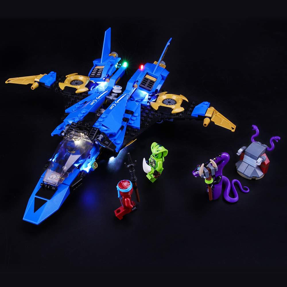 BRIKSMAX Kit de Iluminación Led para Lego Ninjago Caza ...