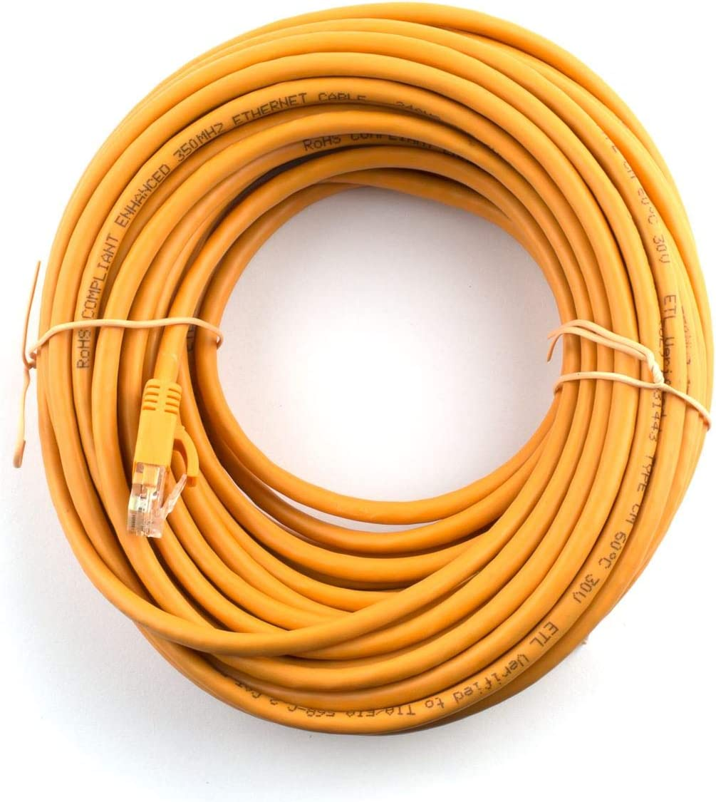 Orange Networx 10 FT Booted Cat5e Network Patch Cable