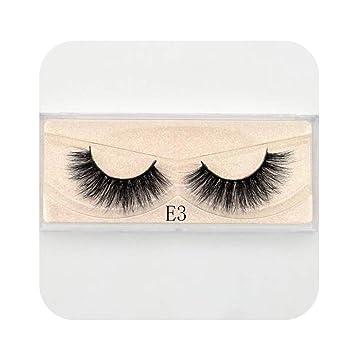 e3d6026cd07 Amazon.com : Barry-Story Mink Eyelashes Crisscross Natural False Eyelashes  Eyelash Extension Full Strip False Lashes Handmade Fake Eyelashes E11, ...