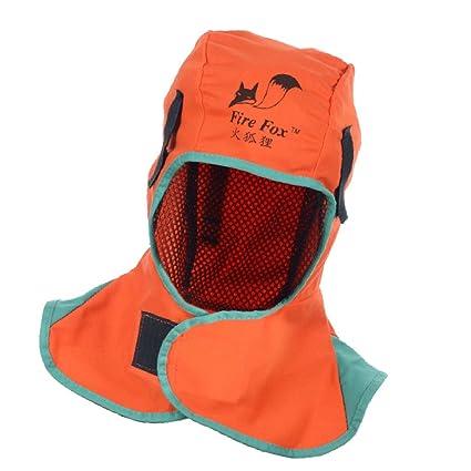 sharplace soldadura casco Capucha Cuello soldador sombrero retardante de llama gorra 2 colores