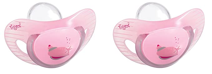 Pink Tigex 2 Silicone Dummies Smart