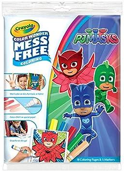 Crayola PJ Masks Color Wonder Mess Free Book: Amazon.co.uk: Toys & Games
