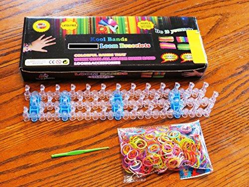 Kool Bands: Band Bracelet Kit; Kit, Bracelet Kit, Rubber ...