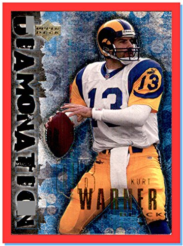 (2000 Upper Deck Black Diamond Diamonation #D4 Kurt Warner ST. LOUIS)
