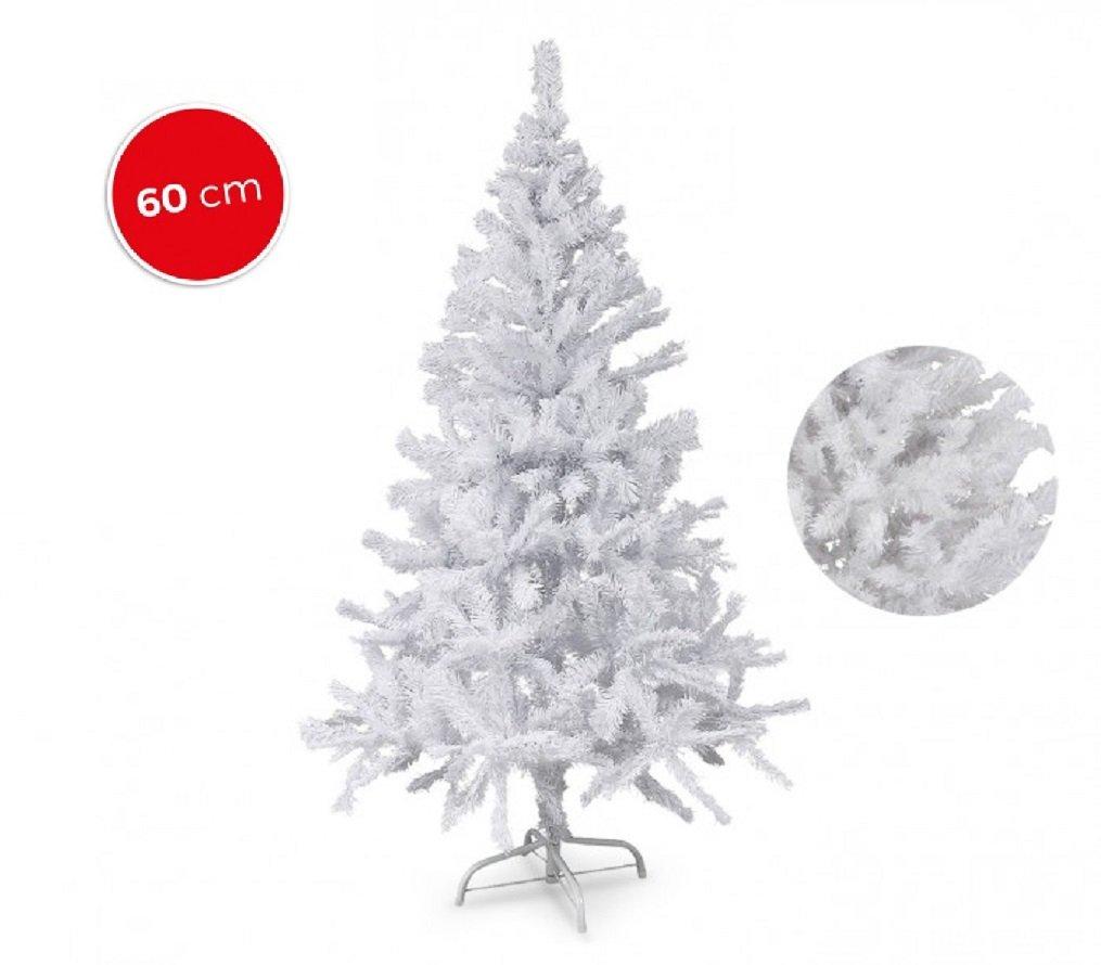 Fair Albero di Natale Artificiale Bianco Natale 60 Punte 60 cm Abete Natalizio