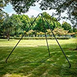 HAPPY PIE PLAY&ADVENTURE Outdoor Swing Hammock Frame Stand Stable Triangle Iron Playground Express Setup Accessory
