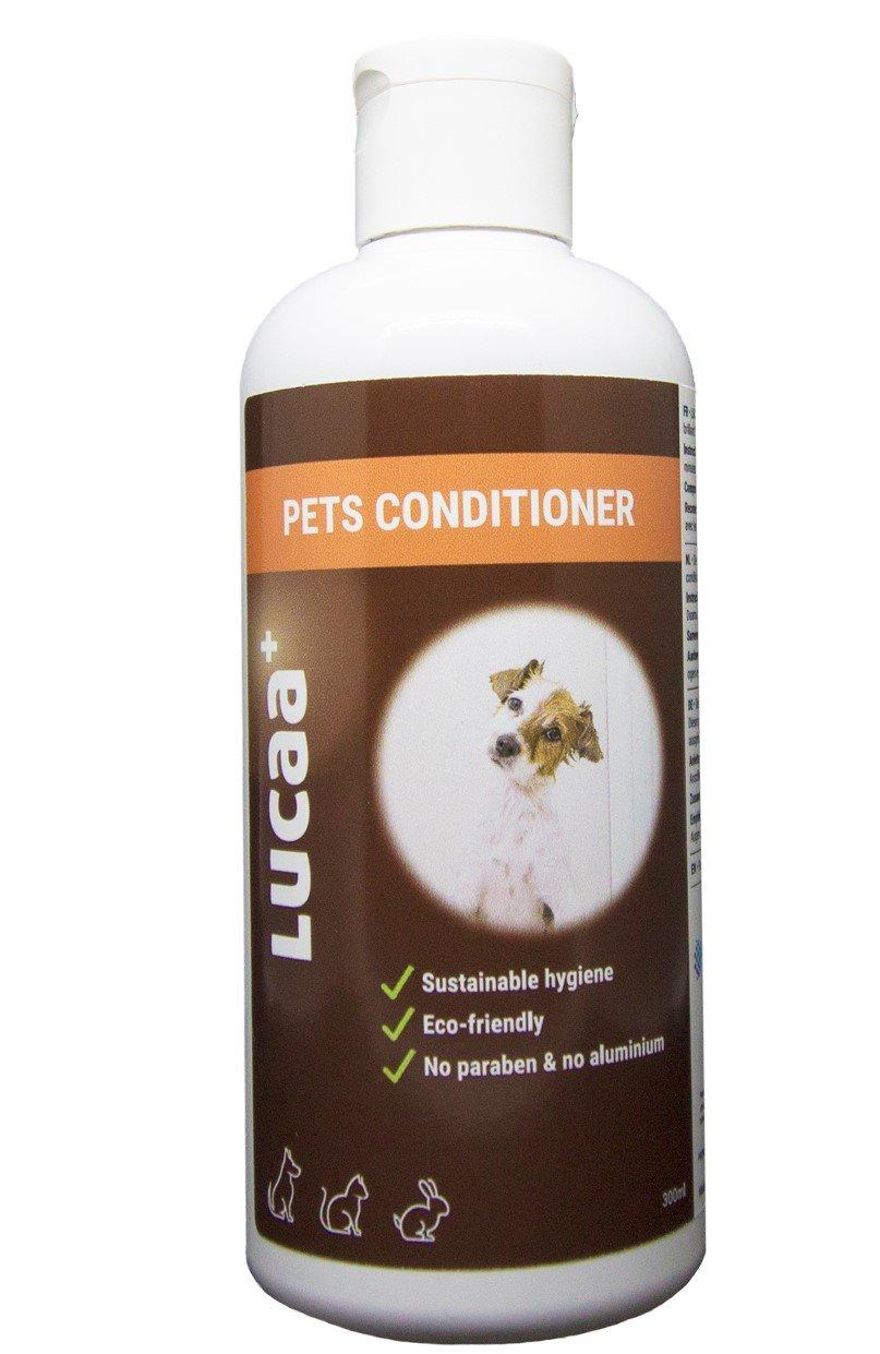 LUCAA+ Après-Shampoing pour Chiens et Chats aux Probiotiques 300 ML | Bio, Vegan & Naturel