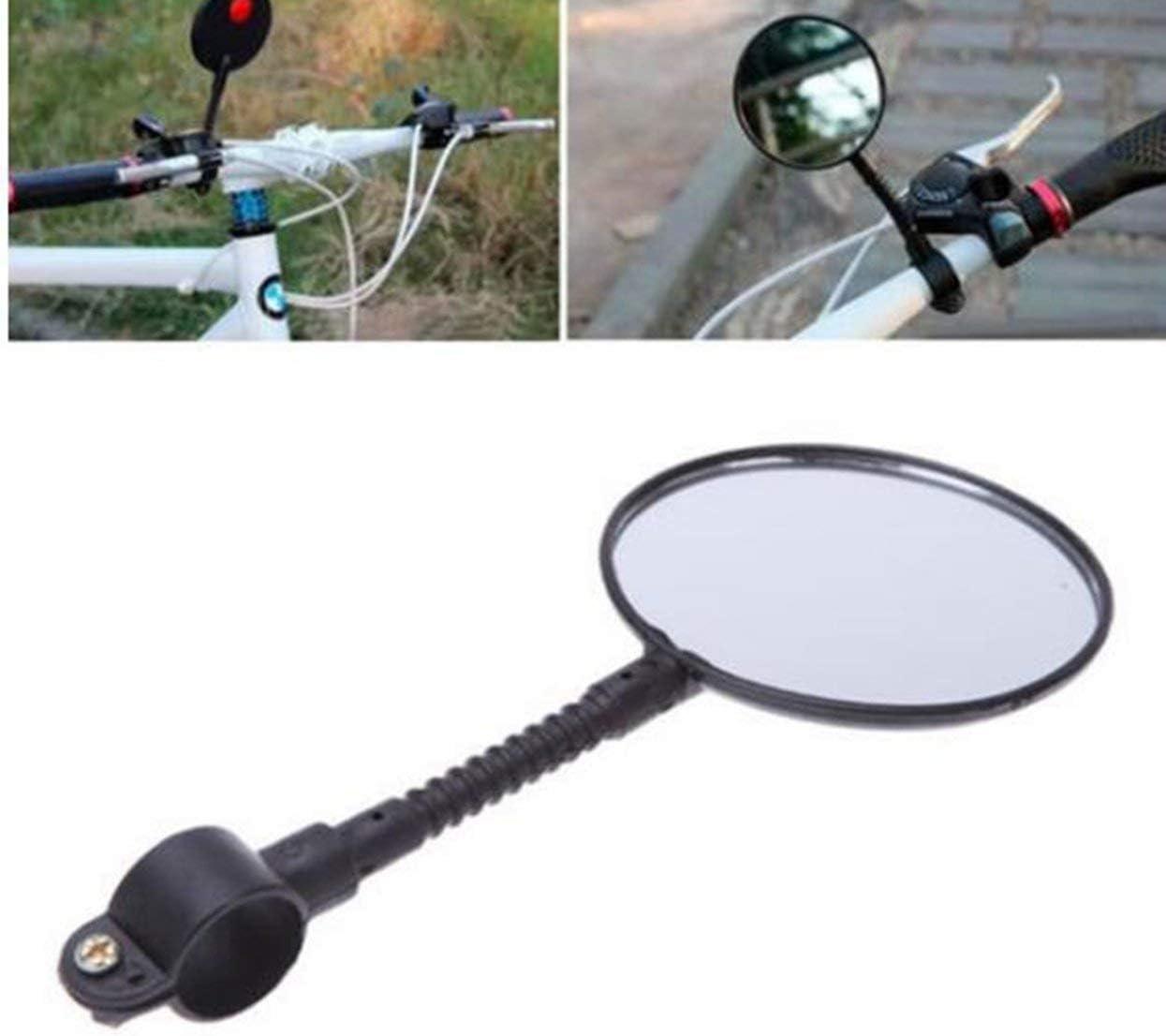 Tellaboull for Facile da Montare Girevole Regolabile in Bicicletta Mountain Road Bike Specchietto retrovisore per Manubrio Posteriore per Bicicletta