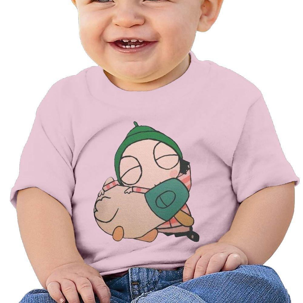 Edward Beck 6-24 Month Baby T-Shirt Sarah /& Duck Logo Fashion Classic Pink