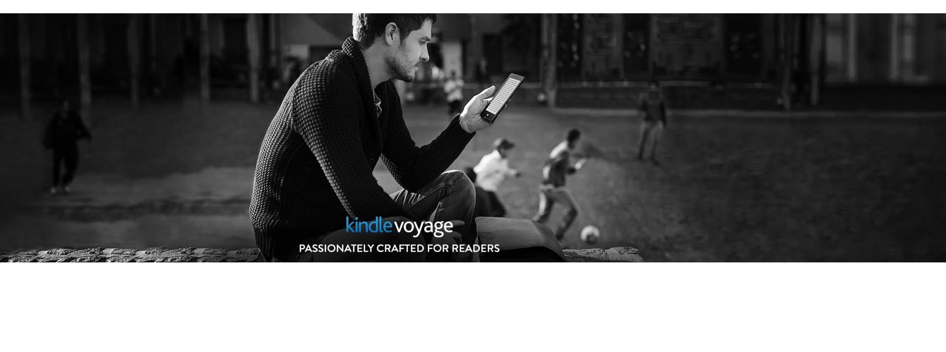 kindle voyage e reader amazon official site