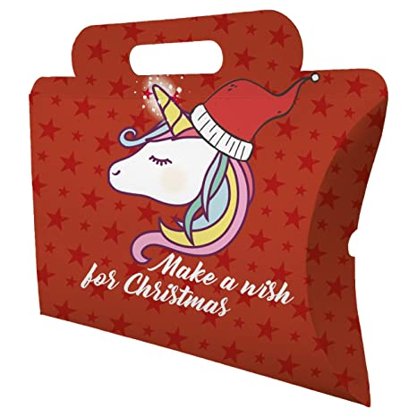 My Custom Style Cajas Mixtas # Natale-unicorno1 # cartulina 300 G