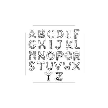 Amazon.com: Globo hinchable con letras de globo de 16.0 in ...