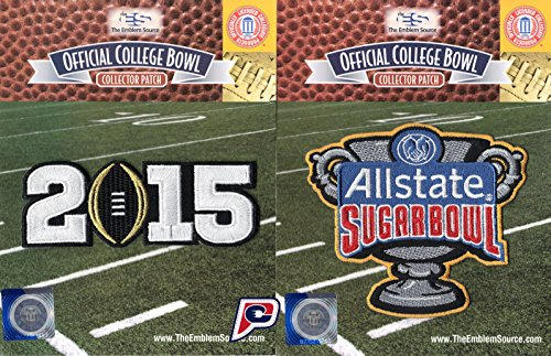 2015 College Football National Champions Ohio State Buckeyes Jersey Patch (Ohio State Buckeyes Sugar)