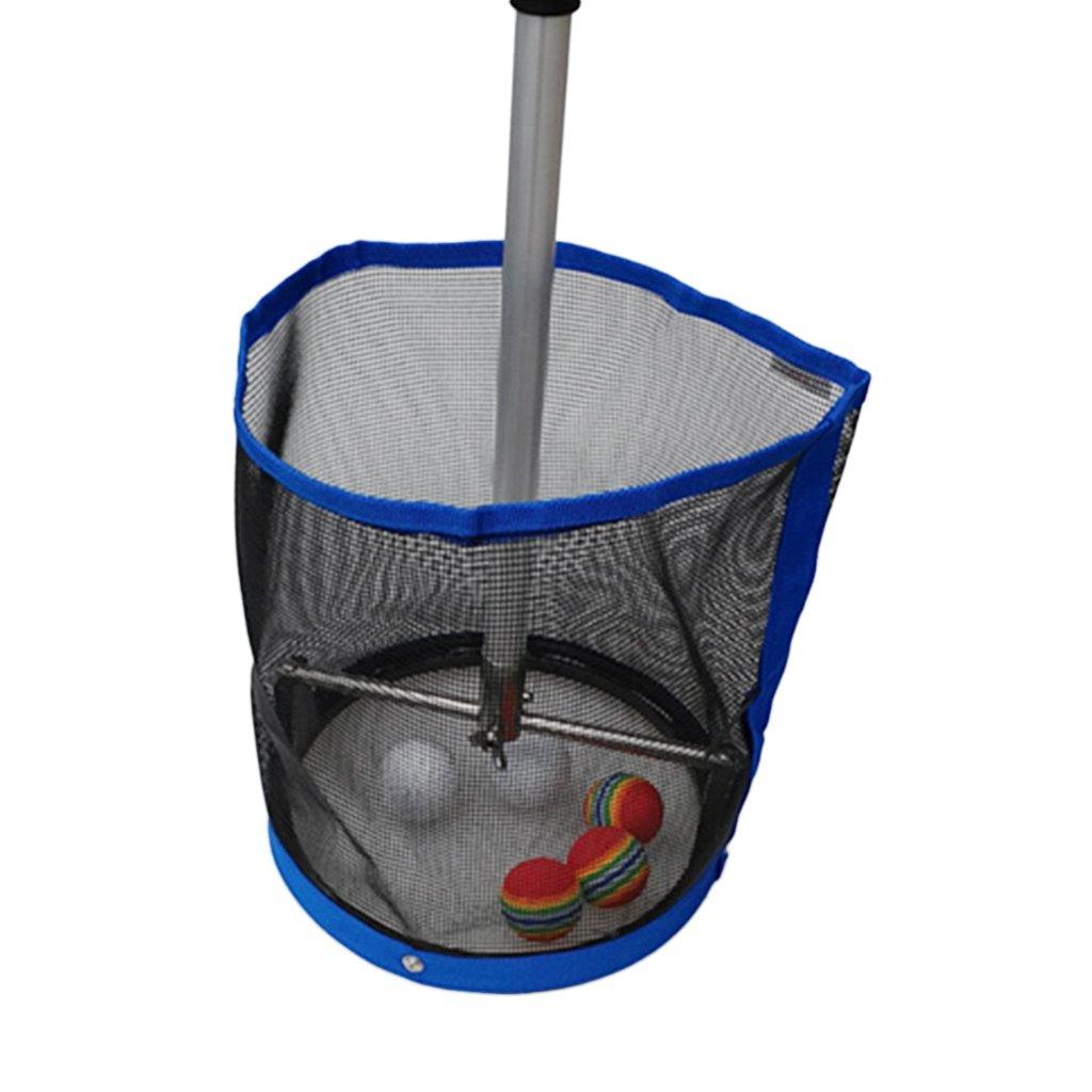 Sharplace 1 Pieza de Recogedor de Bolas de Ping Pong Plegable Recoge Telesc/ópico Pelota de Tenis de Mesa Material de Palo Aluminio