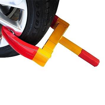 Agarradera para rueda de acero de alta calidad antirrobo, para coche/camión/motocicleta: Amazon.es: Coche y moto