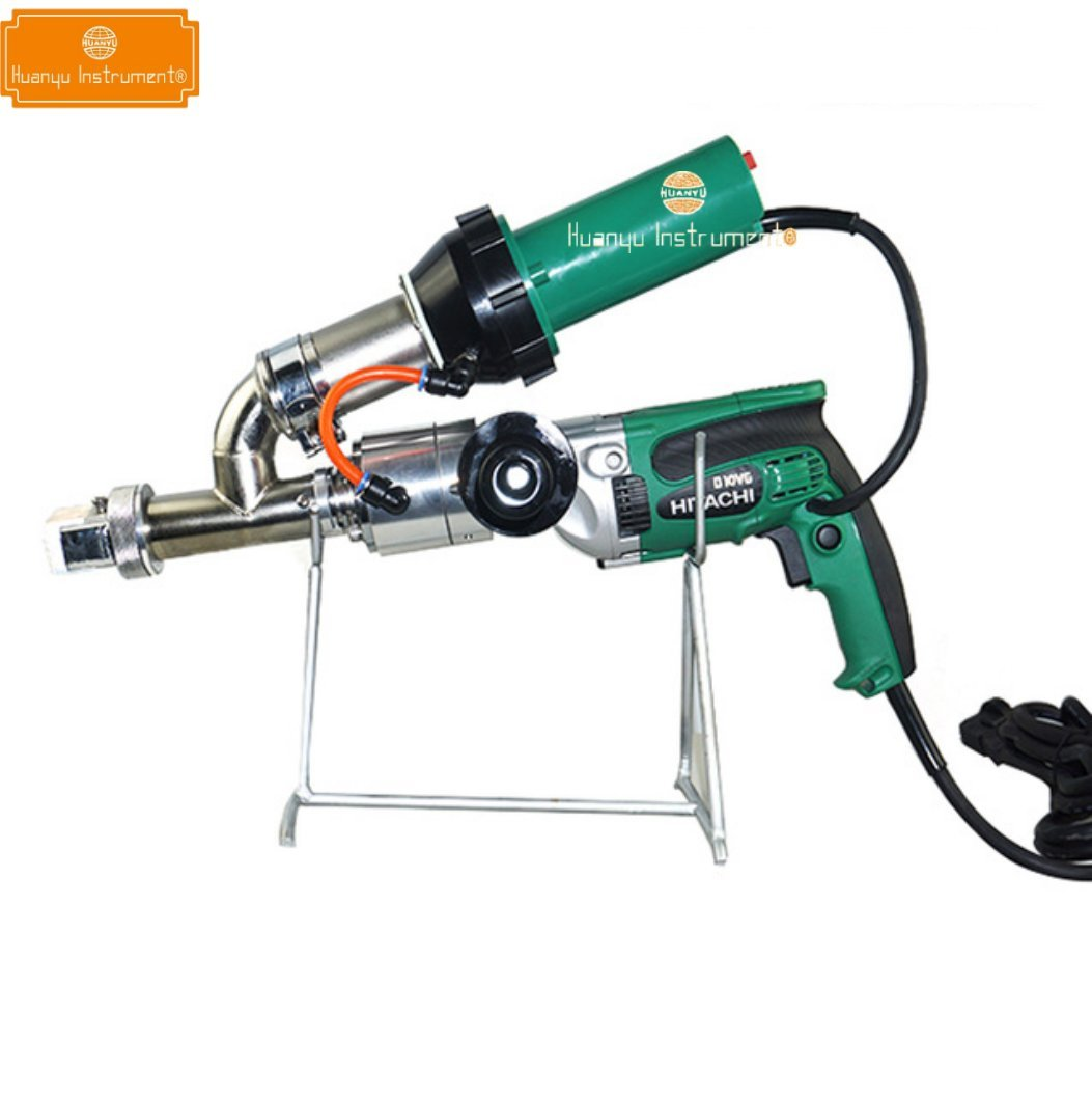 LST600E Portable Automatic Extrusion Hot Air Plastic Welding Gun Kits Welder Torch Pistol for PE PP Plastic by Huanyu