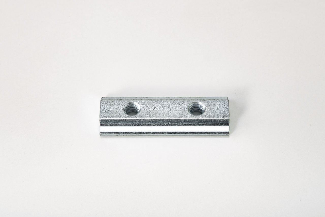 Wistra Sliding Block with 2X M6  Thread for Airline Rail, Lashing Rail