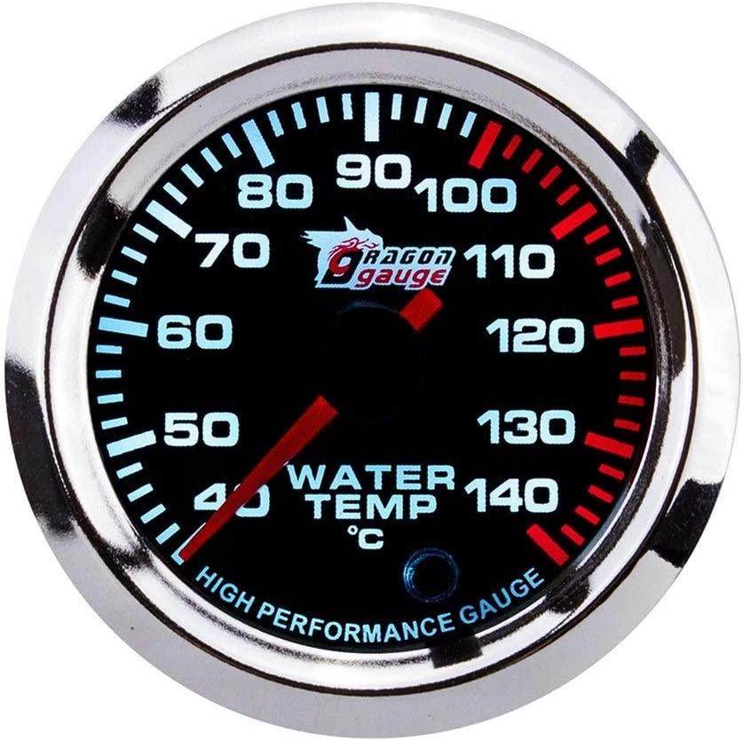 Voltage HYY-Panels Car Tachometer 52mm Boost Temperature Gauge for Universal Car Air-fuel Ratio Oil Temperature Color : Air-fuel Ratio Table Water Temperature Oil Pressure